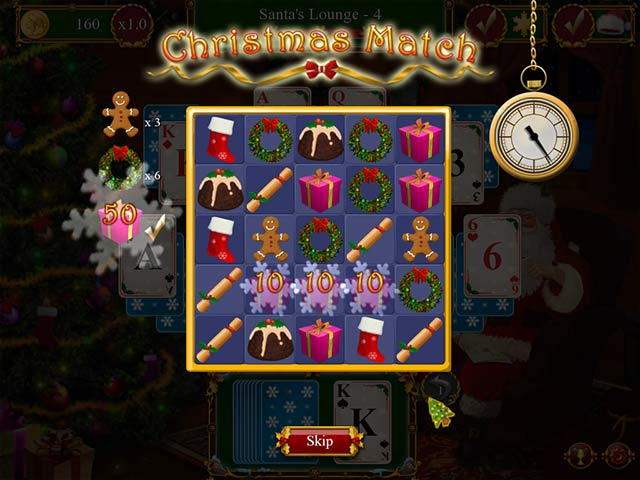 santa's christmas solitaire screenshots 2