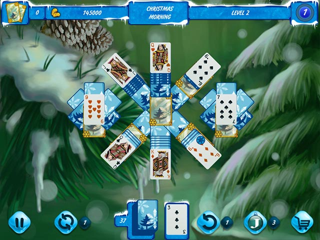 solitaire jack frost: winter adventures screenshots 1