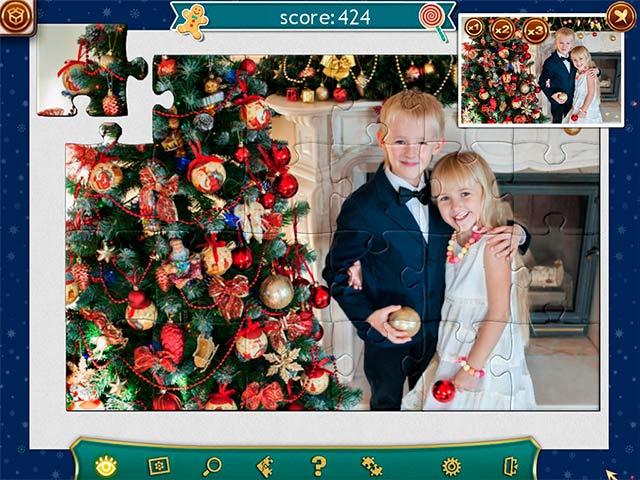 holiday jigsaw christmas 4 screenshots 3