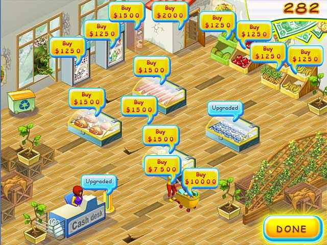 supermarket mania screenshots 1