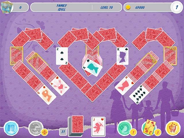 solitaire valentine's day 2 screenshots 3