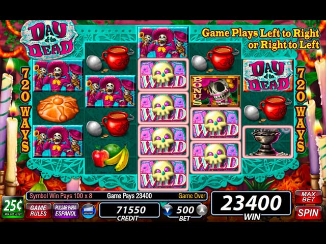 igt slots: day of the dead screenshots 3