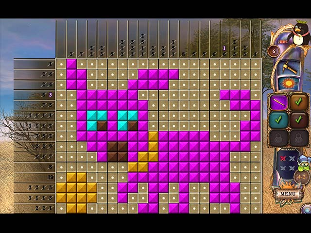 fantasy mosaics 20: castle of puzzles screenshots 3