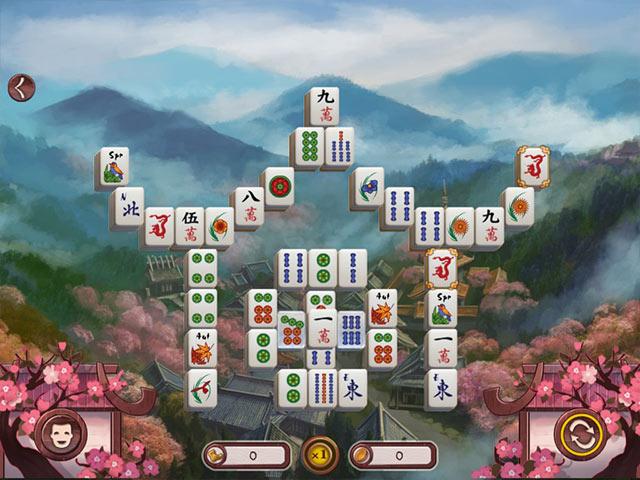 sakura day 2 mahjong screenshots 1