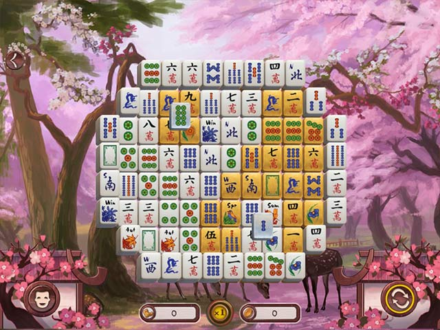 sakura day 2 mahjong screenshots 2