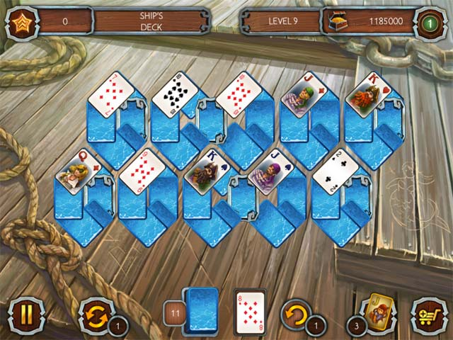solitaire legend of the pirates screenshots 3