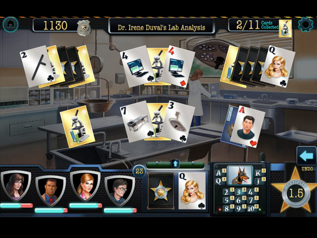 double clue: solitaire stories screenshots 1