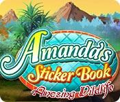 Amanda's Sticker Book: Amazing Wildlife game feature image
