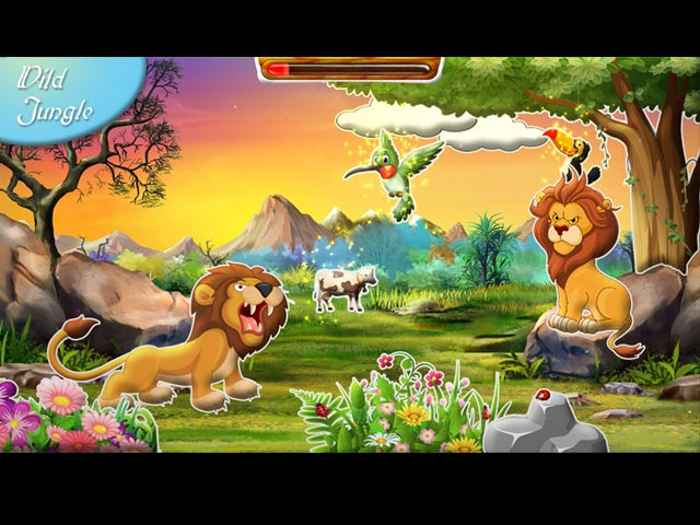 amanda's sticker book: amazing wildlife screenshots 2