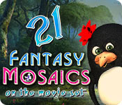 Fantasy Mosaics 21: On the Movie Set game feature image