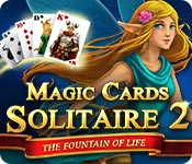 Magic Cards Solitaire 2: The Fountain of Life game feature image