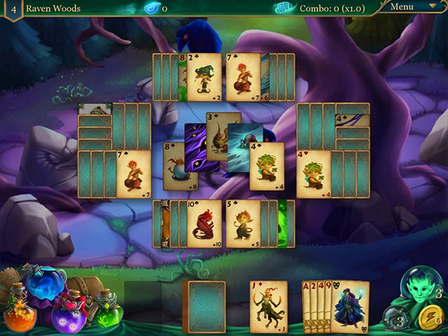magic cards solitaire 2: the fountain of life screenshots 2