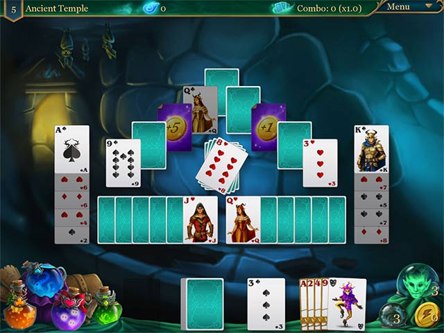 magic cards solitaire 2: the fountain of life screenshots 3