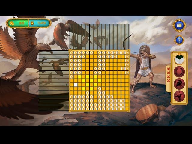 griddlers: 12 labors of hercules screenshots 1