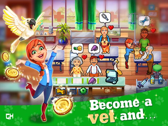 dr. cares pet rescue 911 collector's edition screenshots 1
