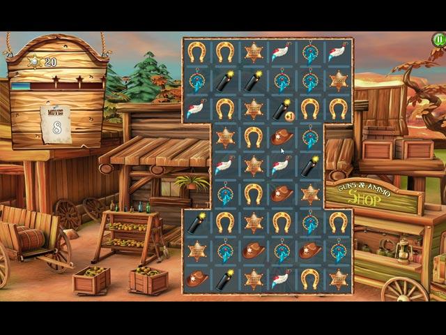 solitaire chronicles: wild guns screenshots 2