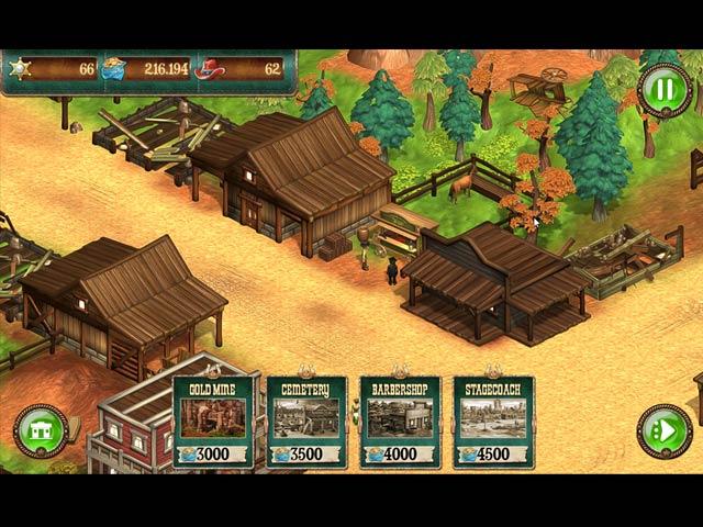 solitaire chronicles: wild guns screenshots 3