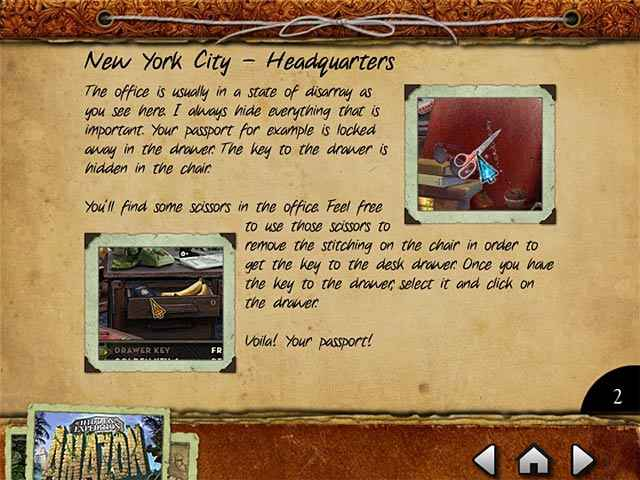 hidden expedition: amazon strategy guide screenshots 1
