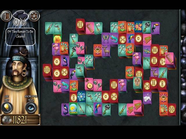 mahjong masters: temple of the ten gods screenshots 1