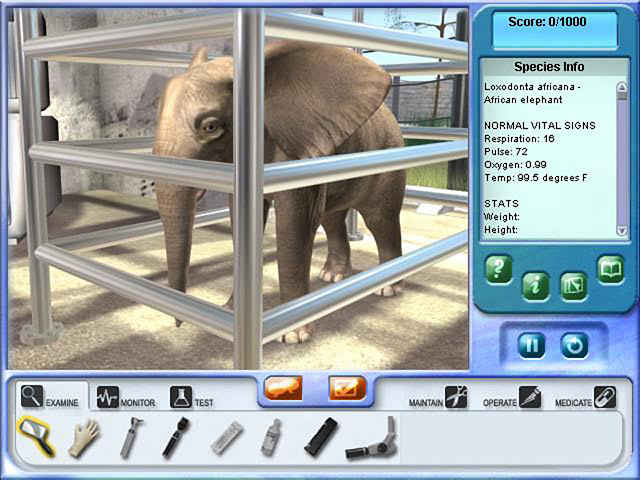 zoo vet 2: endangered animals screenshots 1