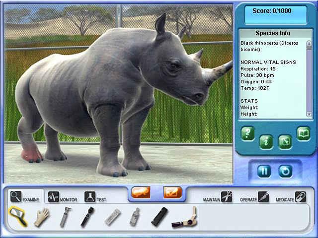 zoo vet 2: endangered animals screenshots 3