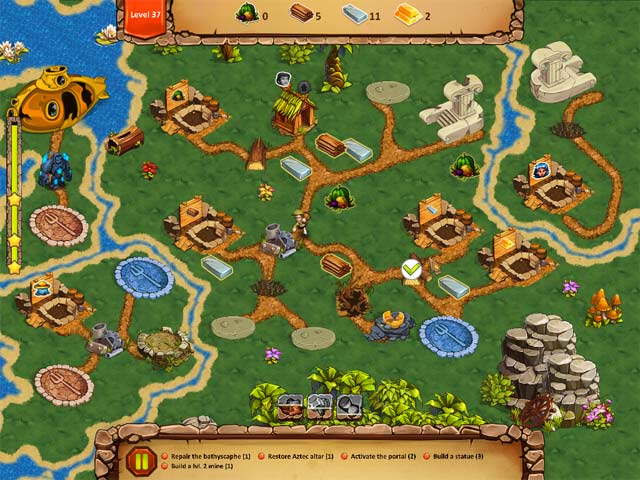lost artifacts: golden island collector's edition screenshots 3