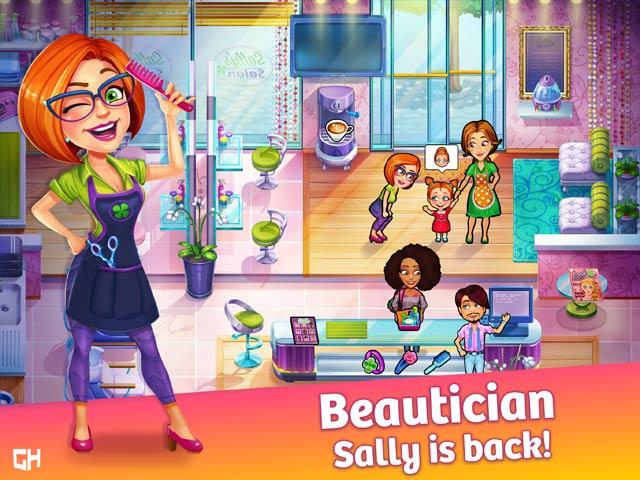 sally's salon: beauty secrets collector's edition screenshots 1