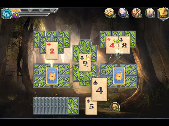 mystic journey: tri peaks solitaire screenshots 1