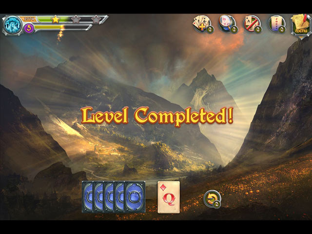 mystic journey: tri peaks solitaire screenshots 3