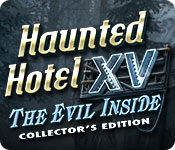 Haunted Hotel XV: The Evil Inside Collector's Edition game feature image