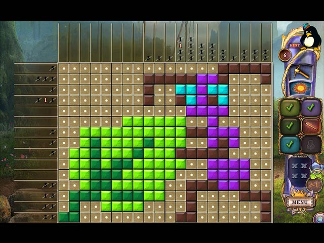 fantasy mosaics 24: deserted island screenshots 9