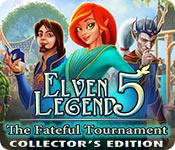 Elven Legend 5: The Fateful Tournament Collector's Edition game feature image