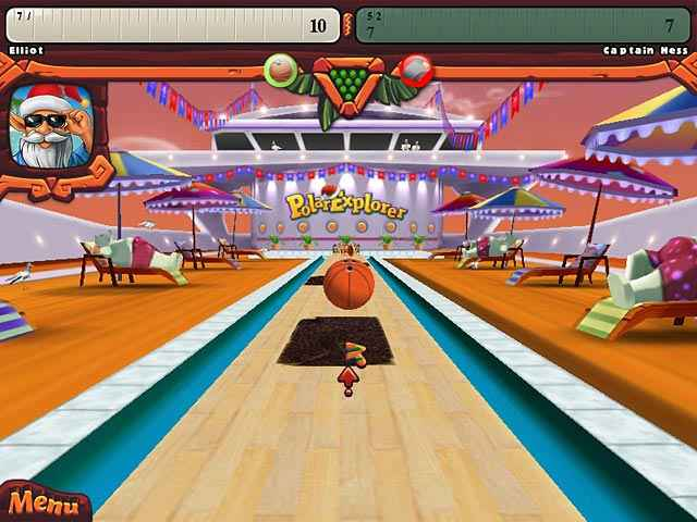 elf bowling: hawaiian vacation