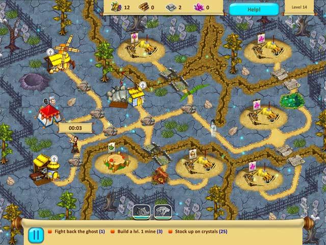 gnomes garden: halloween screenshots 3