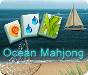 Ocean Mahjong game feature image