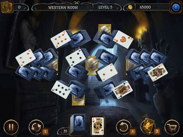 mystery solitaire: the black raven screenshots 2