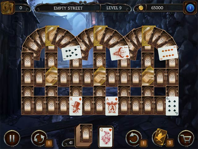 mystery solitaire: the black raven screenshots 3