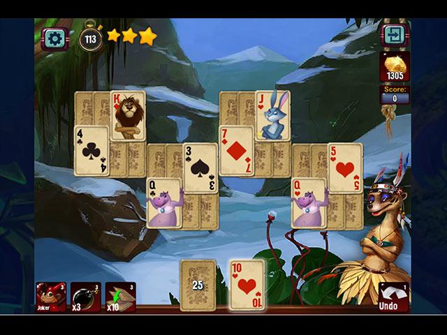 rainforest solitaire screenshots 3
