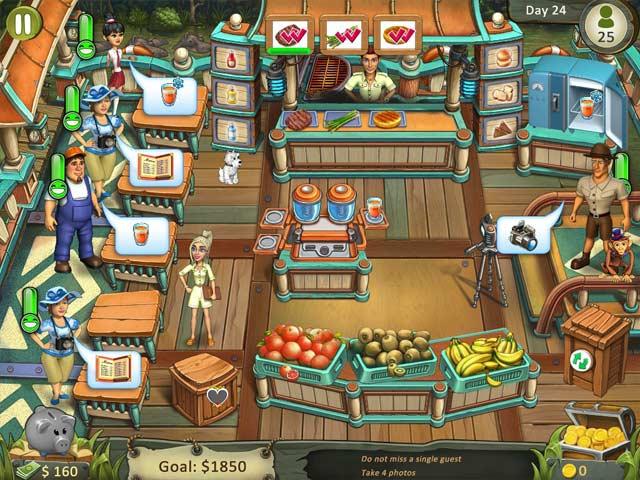 katy and bob: safari cafe screenshots 2