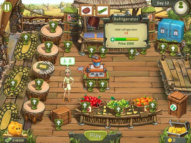 katy and bob: safari cafe screenshots 3