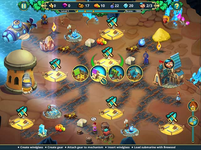 elven legend 5: the fateful tournament screenshots 1