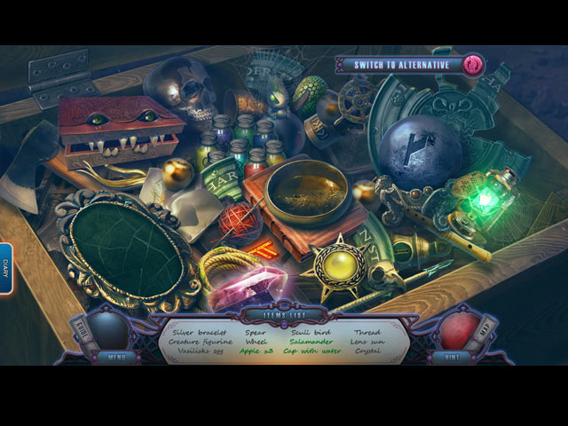 the forgotten fairy tales: canvases of time collector's edition screenshots 2