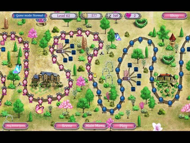 jewel match solitaire: l'amour screenshots 2