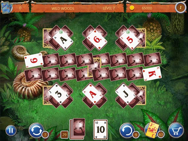 solitaire: ted and p.e.t screenshots 1