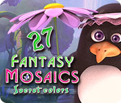Fantasy Mosaics 27: Secret Colors game feature image