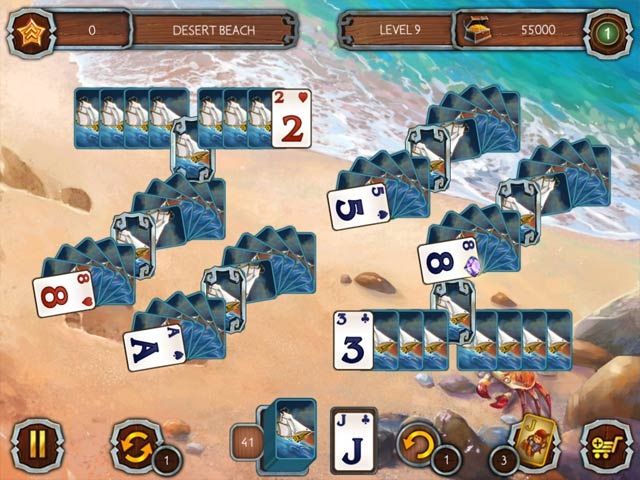 solitaire legend of the pirates 2 screenshots 1
