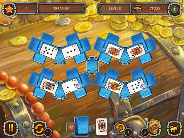 solitaire legend of the pirates 2 screenshots 2
