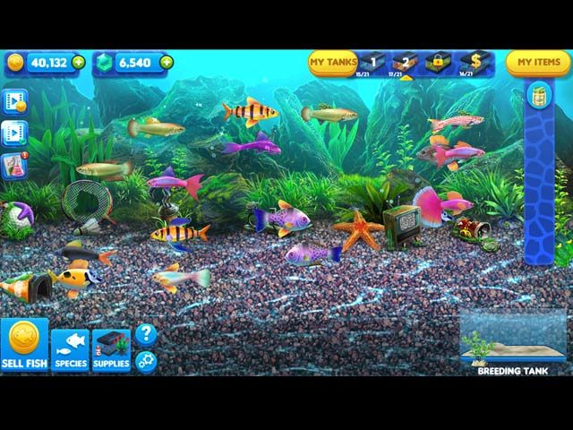 fish tycoon 2: virtual aquarium screenshots 1