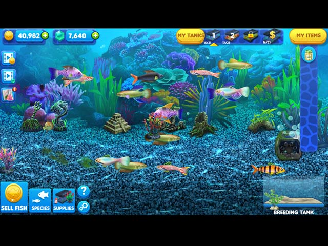 fish tycoon 2: virtual aquarium screenshots 9