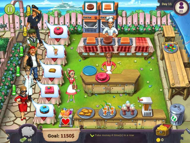 katy and bob: cake cafe collector's edition screenshots 1